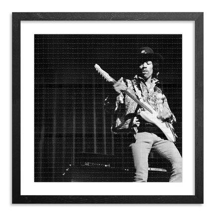 Leni Sinclair Art Print - Jimi Hendrix - Blotter Variant