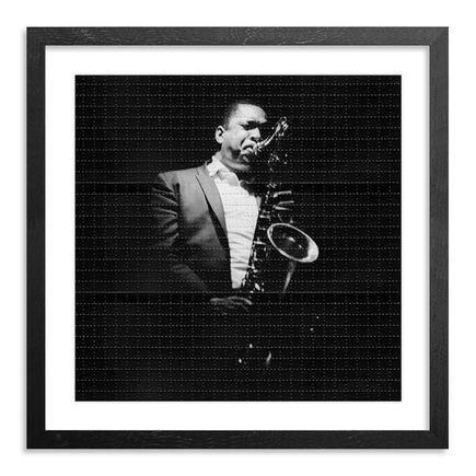 Leni Sinclair Art Print - John Coltrane - Blotter Variant