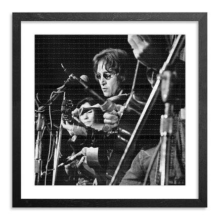 Leni Sinclair Art Print - John Lennon & Yoko - Blotter Variant