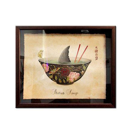 Lindsey Carr Original Art - Status Soup