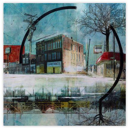 Liz Brizzi Original Art - Claramunt Printing Co.