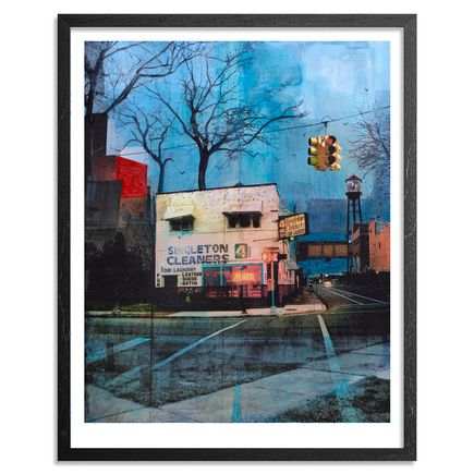 Liz Brizzi Art - Singleton Cleaners - Framed
