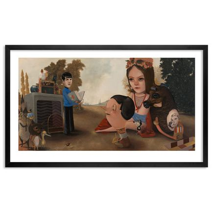 Lola Gil Art Print - We All Come Together In The Story Garden