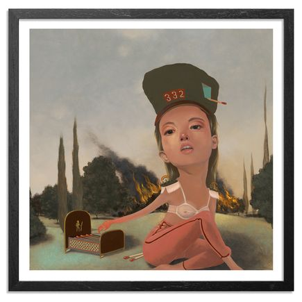 Lola Gil Art Print - The Simple Flare