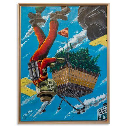 Look Original Art - Shopping Spree - Original Painting