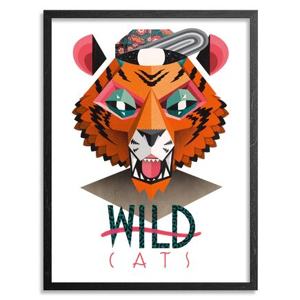 Low Bros Art - Tiger - Framed
