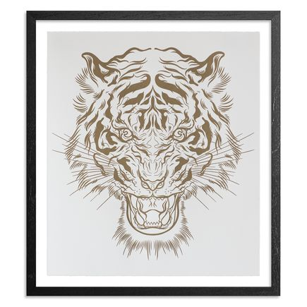Lucky Olelo Art Print - Tiger Style - Gold Edition