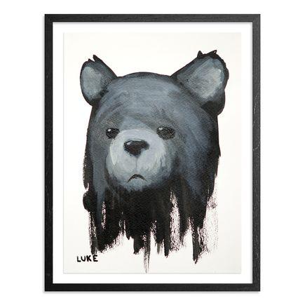 Luke Chueh Original Art - Bear - Character Study