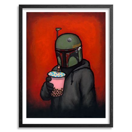 Luke Chueh Art - Boba - Framed