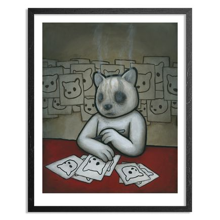 Luke Chueh Art - Burnt Out - Limited Edition Prints - Framed