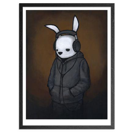 Luke Chueh Art Print - Headphones