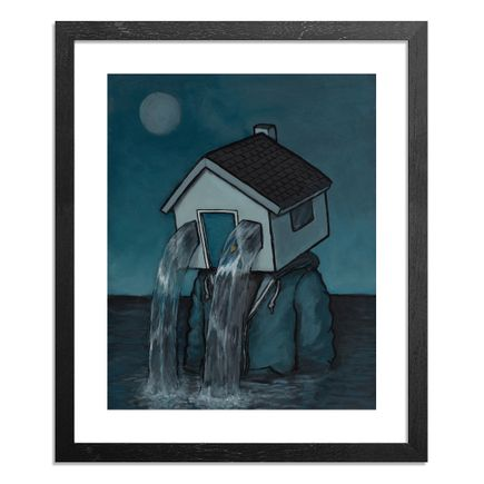 Luke Chueh Art Print - Personal Space - Flooded (Larger Than Life)