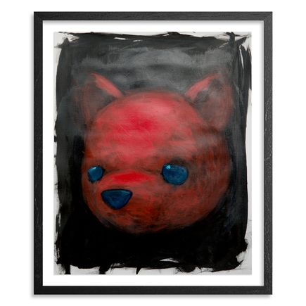 Luke Chueh Original Art - Red Bear