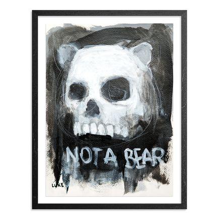 Luke Chueh Original Art - Skull - Character Study