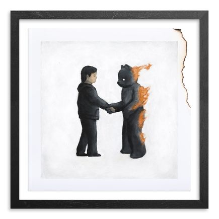 Luke Chueh Art Print - Wish You Were Here - Hand-Burned Edition
