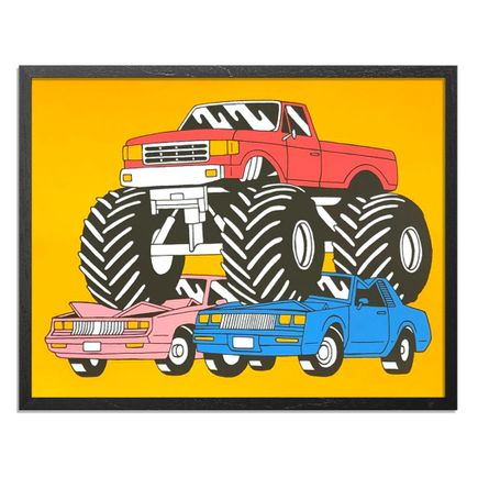 Luke Pelletier Art Print - Monster Truck