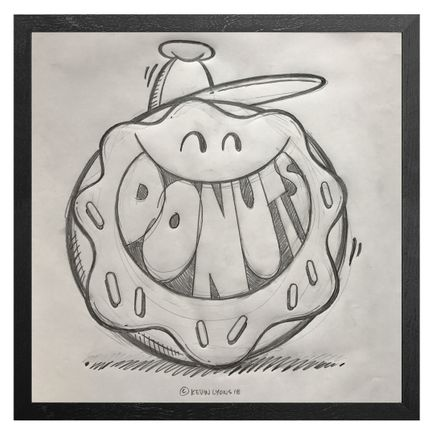 Kevin Lyons Original Art - Donuts - Sketch - Record Store Day