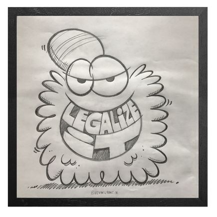 Kevin Lyons Original Art - Equal Rights - Sketch - Record Store Day