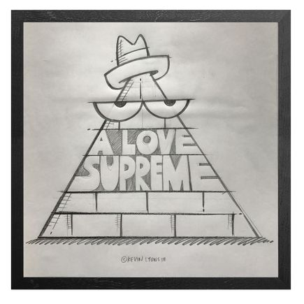 Kevin Lyons Original Art - A Love Supreme - Sketch - Record Store Day