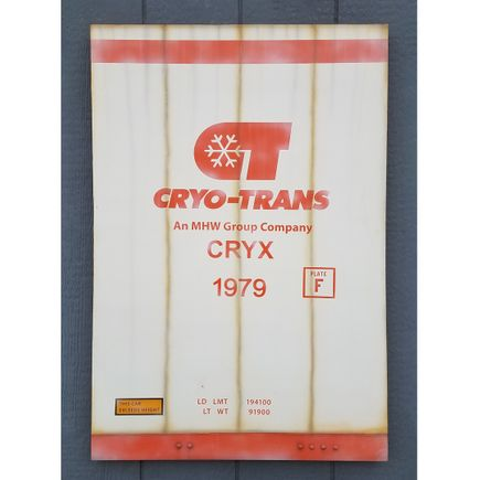 Lyric One Original Art - Cryo-Trans - 24 x 36 Inch Panel