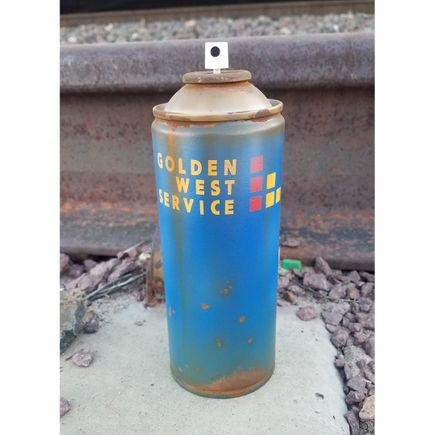 Lyric One Art Print - Golden West Service - I - Spray Can