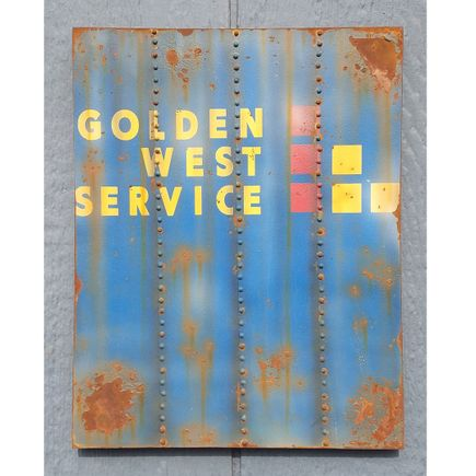 Lyric One Original Art - Golden West Service - 11 x 14 Inch Panel