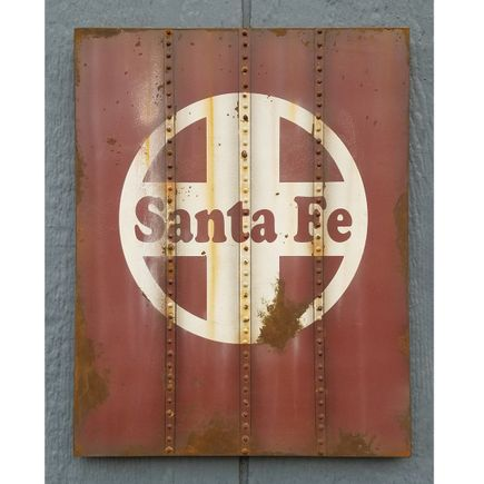 Lyric One Original Art - Santa Fe - II - 11 x 14 Inch Panel
