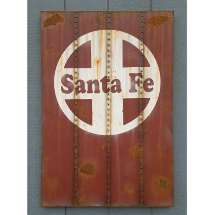 Lyric One Original Art - Santa Fe - 24 x 36 Inch Panel