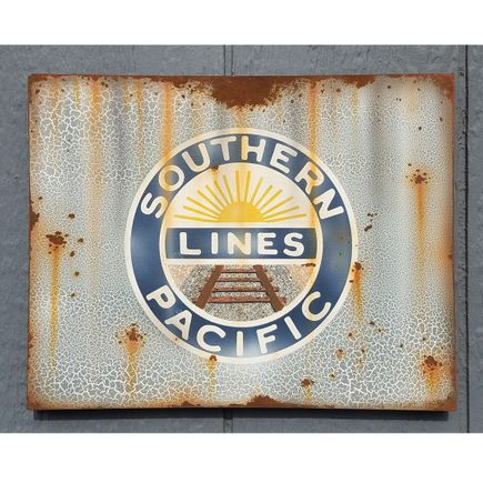 Lyric One Original Art - Southern Pacific - 14 x 11 Inch Panel