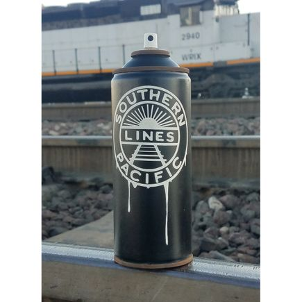 Lyric One Original Art - Southern Pacific - Spray Can