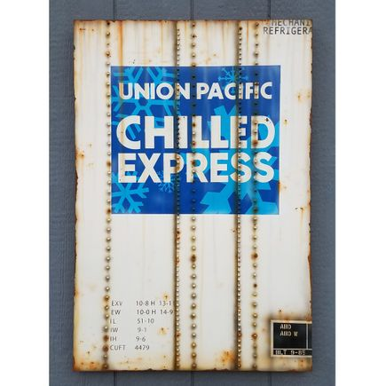 Lyric One Original Art - Union Pacific Chilled Express - 24 x 36 Inch Panel
