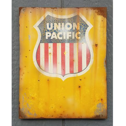 Lyric One Original Art - Union Pacific - I - 11 x 14 Inch Panel