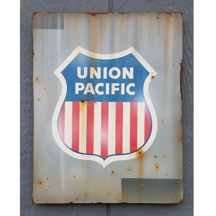 Lyric One Original Art - Union Pacific - II - 11 x 14 Inch Panel