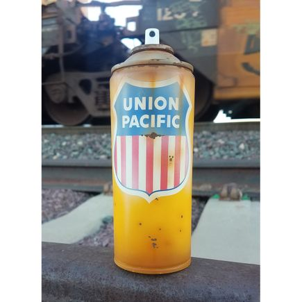 Lyric One Original Art - Union Pacific - II - Spray Can