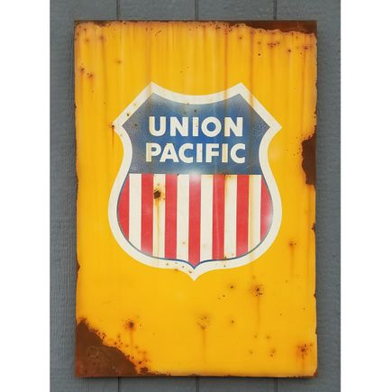 Lyric One Original Art - Union Pacific - 24 x 36 Inch Panel