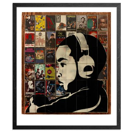 M. Tony Peralta Art - Childhood Soundtrack - Framed