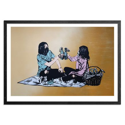MAD Art Print - Picnic - Hand-Painted Multiple - 02