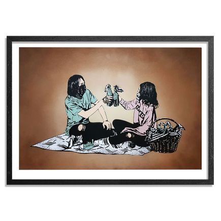 MAD Art Print - Picnic - Hand-Painted Multiple - 03