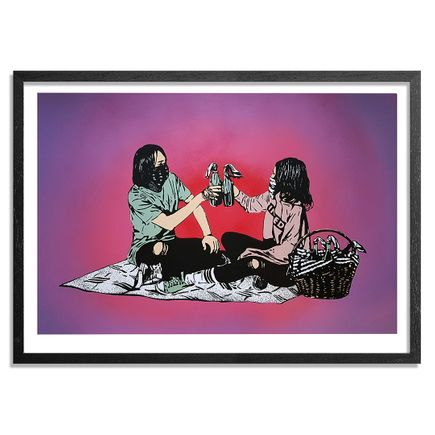 MAD Art Print - Picnic - Hand-Painted Multiple - 05