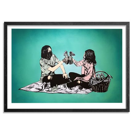 MAD Art Print - Picnic - Hand-Painted Multiple - 09