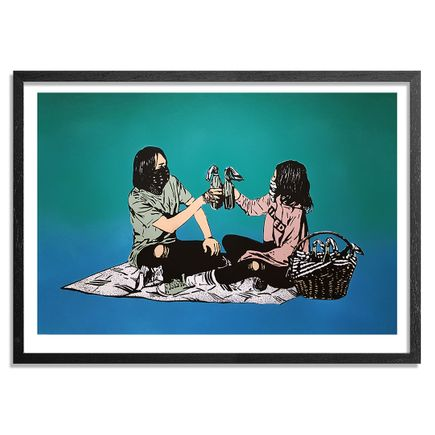 MAD Art Print - Picnic - Hand-Painted Multiple - 11