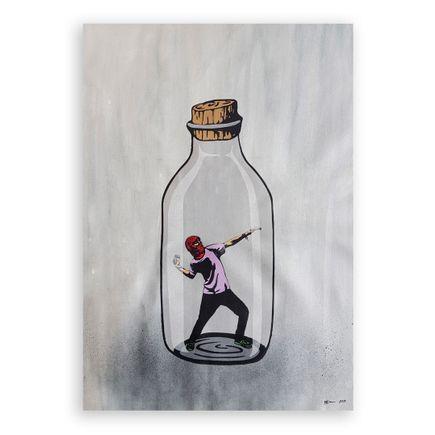 MAD Original Art - Rise Against The System - Original Artwork