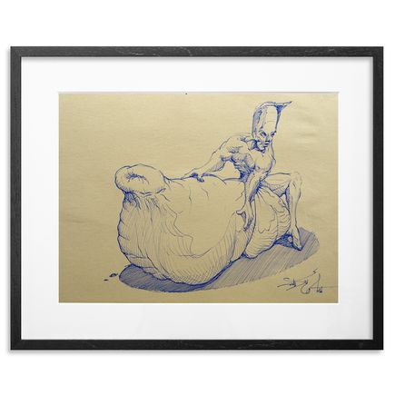 Made514 Original Art - The Weight Of Pleasure 1 - Original Sketch