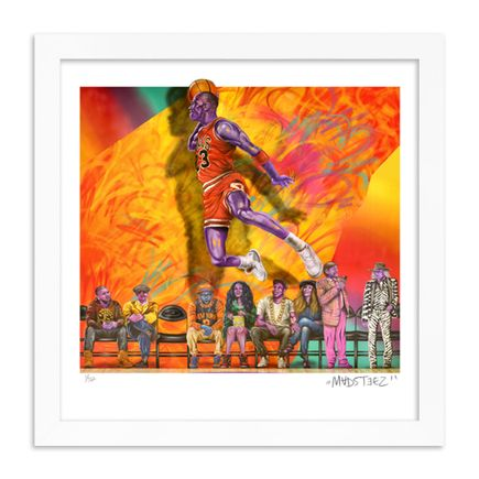 Madsteez Art Print - WEENJordan The GOAT - 12 Inch Edition