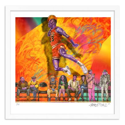 Madsteez Art Print - WEENJordan The GOAT - 23 Inch Edition