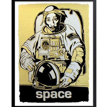 Madsteez Art - Two Print Set - SpaceWEENpac - Gold + Silver Editions