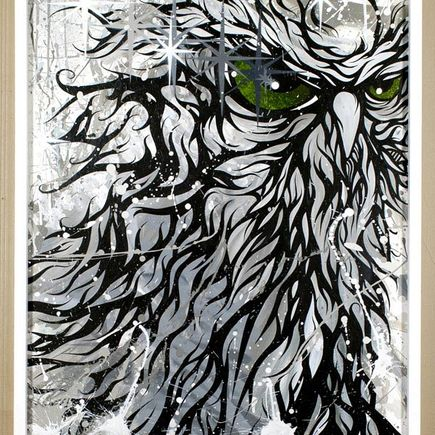 Malt Original Art - Snowbird
