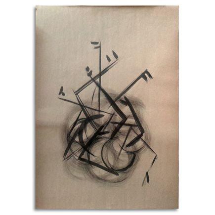 Carlos Mare aka Mare139 Original Art - B-boy Back Spin - Original Artwork