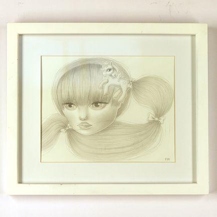 Maria Finna Original Art - Framed Original Drawing