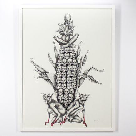 Mariana Villanueva Original Art - Centeotl